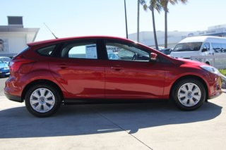 2013 Ford Focus LW MkII Ambiente PwrShift Red 6 Speed Sports Automatic Dual Clutch Hatchback.