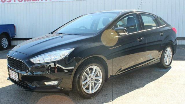Used Ford Focus LZ Trend, 2016 Ford Focus LZ Trend Black 6 Speed Automatic Sedan