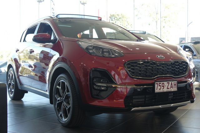 Used Kia Sportage QL MY18 GT-Line AWD, 2018 Kia Sportage QL MY18 GT-Line AWD Fiery Red 6 Speed Sports Automatic Wagon