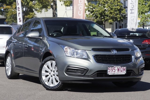 Used Holden Cruze JH Series II MY16 Equipe, 2016 Holden Cruze JH Series II MY16 Equipe Grey 6 Speed Sports Automatic Sedan