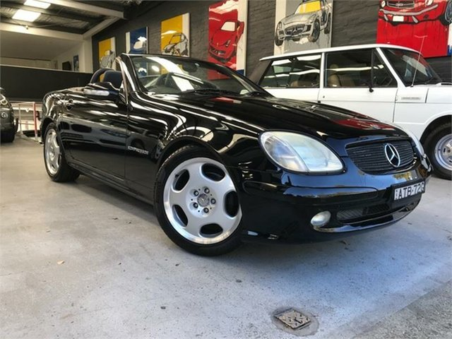 Used Mercedes-Benz SLK200 Kompressor R170 , 2001 Mercedes-Benz SLK200 Kompressor R170 Black Automatic Roadster