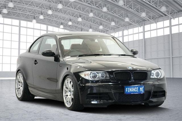 Used BMW 135i E82 Sport Steptronic, 2008 BMW 135i E82 Sport Steptronic Black 6 Speed Sports Automatic Coupe