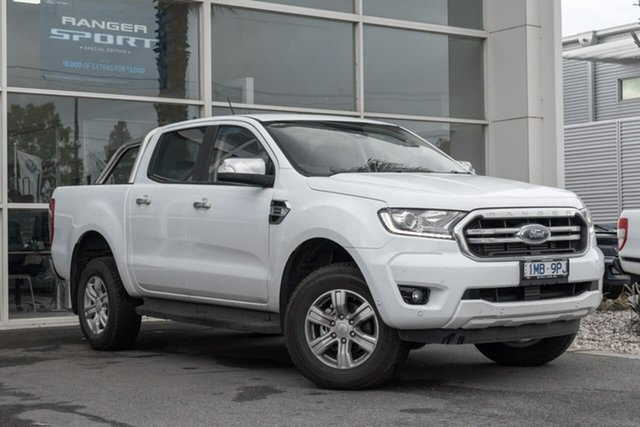 Used Ford Ranger PX MkIII 2019.00MY XLT Pick-up Super Cab, 2018 Ford Ranger PX MkIII 2019.00MY XLT Pick-up Super Cab 10 Speed Sports Automatic Utility