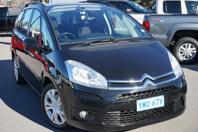 Used Citroen C4 Picasso  HDi EGS, 2012 Citroen C4 Picasso HDi EGS Black 6 Speed Sports Automatic Single Clutch Wagon