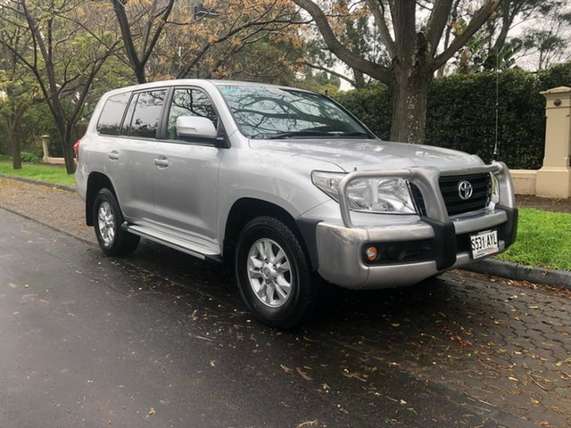 Used Toyota Landcruiser VDJ200R MY12 GXL, 2013 Toyota Landcruiser VDJ200R MY12 GXL Silver 6 Speed Sports Automatic Wagon