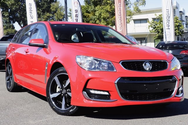 Used Holden Commodore VF II MY17 SV6 Sportwagon, 2017 Holden Commodore VF II MY17 SV6 Sportwagon Red 6 Speed Sports Automatic Wagon