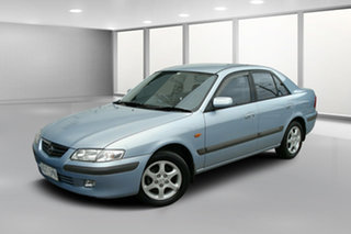2000 Mazda 626 GF Limited Blue Mica 4 Speed Automatic Sedan.