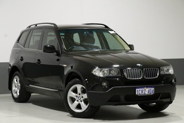 Used BMW X3 E83 MY07 2.5SI, 2007 BMW X3 E83 MY07 2.5SI Black 6 Speed Manual Wagon