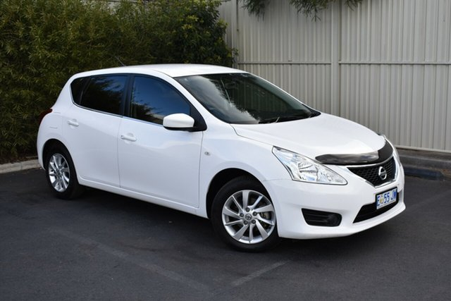 Used Nissan Pulsar C12 Series 2 ST, 2015 Nissan Pulsar C12 Series 2 ST Polar White 1 Speed Constant Variable Hatchback