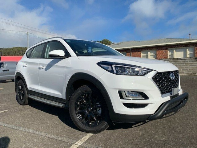 Demo Hyundai Tucson TL3 MY19 Go 2WD, 2018 Hyundai Tucson TL3 MY19 Go 2WD Pure White 6 Speed Automatic Wagon