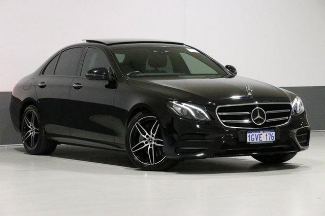 Used Mercedes-Benz E220 212 MY15 Upgrade CDI, 2017 Mercedes-Benz E220 212 MY15 Upgrade CDI Black 7 Speed Automatic Sedan