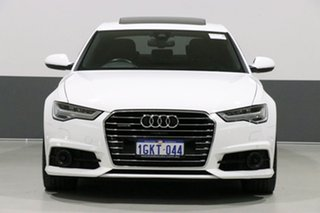 2017 Audi A6 4GL MY17 3.0 TDI Biturbo Quattro White 8 Speed Automatic Tiptronic Sedan.
