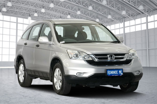 Used Honda CR-V RE MY2011 4WD, 2012 Honda CR-V RE MY2011 4WD Silver 5 Speed Automatic Wagon