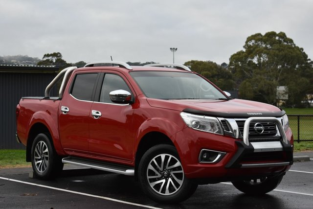 Used Nissan Navara D23 ST-X, 2015 Nissan Navara D23 ST-X Red 6 Speed Manual Utility