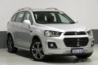 2017 Holden Captiva CG MY17 7 LTZ (AWD) Silver 6 Speed Automatic Wagon.