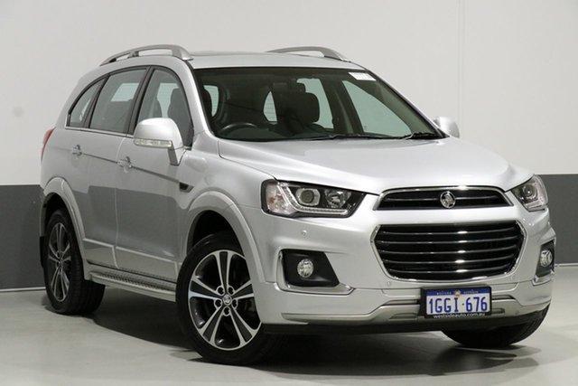 Used Holden Captiva CG MY17 7 LTZ (AWD), 2017 Holden Captiva CG MY17 7 LTZ (AWD) Silver 6 Speed Automatic Wagon