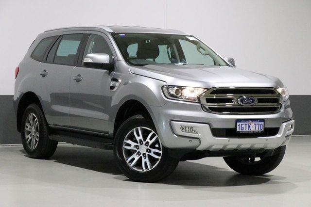 Used Ford Everest UA MY18 Trend (RWD), 2018 Ford Everest UA MY18 Trend (RWD) Grey 6 Speed Automatic Wagon