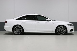 2017 Audi A6 4GL MY17 3.0 TDI Biturbo Quattro White 8 Speed Automatic Tiptronic Sedan
