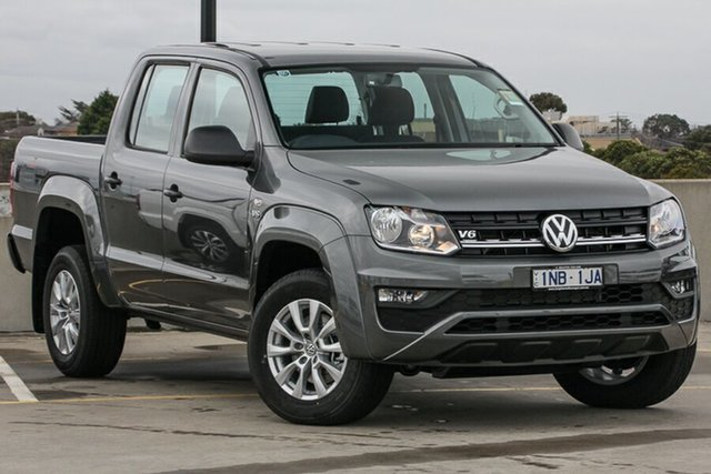 Demo Volkswagen Amarok 2H MY19 TDI550 4MOTION Perm Core, 2019 Volkswagen Amarok 2H MY19 TDI550 4MOTION Perm Core Indium Grey 8 Speed Automatic Utility