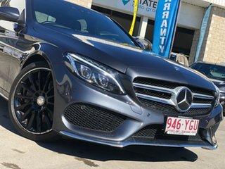 2015 Mercedes-Benz C-Class W205 806MY Grey 7 Speed Sports Automatic Sedan