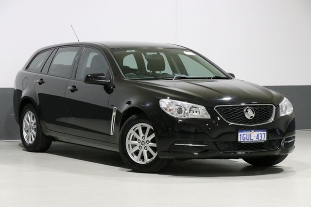 Used Holden Commodore VF Evoke, 2014 Holden Commodore VF Evoke Black 6 Speed Automatic Sportswagon