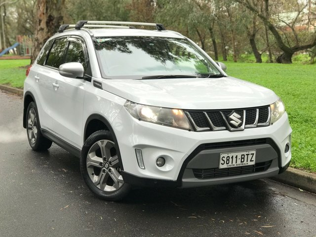 Used Suzuki Vitara LY S Turbo 2WD, 2017 Suzuki Vitara LY S Turbo 2WD Crystal Pearl 6 Speed Sports Automatic Wagon