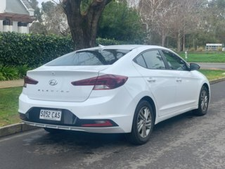 2019 Hyundai Elantra Polar White Automatic Sedan