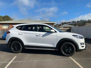 2018 Hyundai Tucson TL3 MY19 Go 2WD Pure White 6 Speed Automatic Wagon.