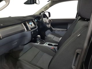 2018 Ford Ranger PX MkII 2018.00MY XLT Super Cab Black 6 Speed Sports Automatic Utility