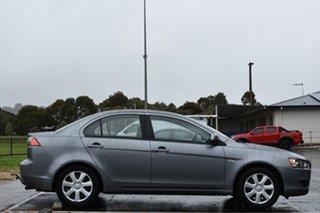 2013 Mitsubishi Lancer CJ MY13 ES Sportback Titanium Grey 6 Speed Constant Variable Hatchback.