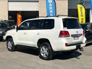 2010 Toyota Landcruiser VDJ200R MY10 Sahara White 6 Speed Sports Automatic Wagon.