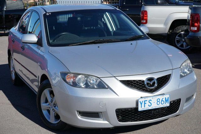 Used Mazda 3 BK10F2 MY08 Neo Sport, 2009 Mazda 3 BK10F2 MY08 Neo Sport Silver 4 Speed Sports Automatic Hatchback