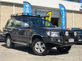 2003 Toyota Landcruiser UZJ100R GXL Grey 5 Speed Automatic Wagon.