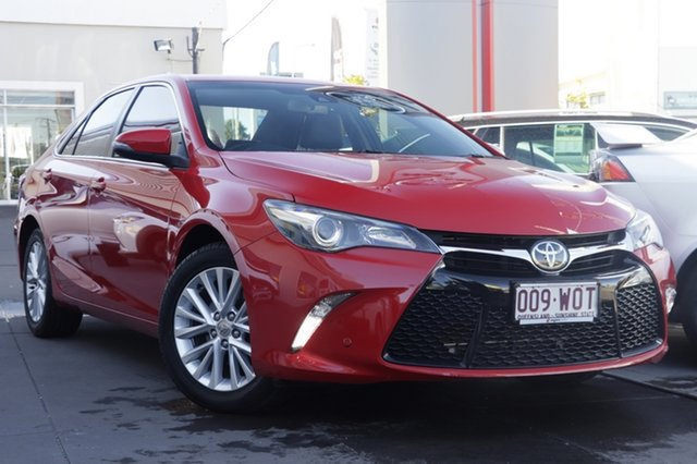 Used Toyota Camry ASV50R Atara SL, 2016 Toyota Camry ASV50R Atara SL Red 6 Speed Sports Automatic Sedan