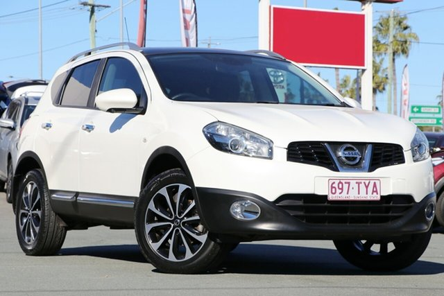 Used Nissan Dualis J10W Series 3 MY12 Ti-L X-tronic AWD, 2013 Nissan Dualis J10W Series 3 MY12 Ti-L X-tronic AWD White 6 Speed Constant Variable Hatchback