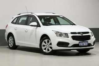 2015 Holden Cruze JH MY15 CD Heron White 6 Speed Automatic Sportswagon.