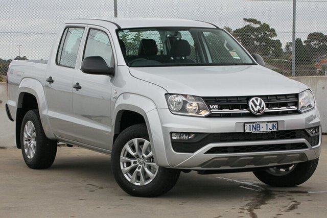 Demo Volkswagen Amarok 2H MY19 TDI550 4MOTION Perm Core, 2019 Volkswagen Amarok 2H MY19 TDI550 4MOTION Perm Core Reflex Silver 8 Speed Automatic Utility