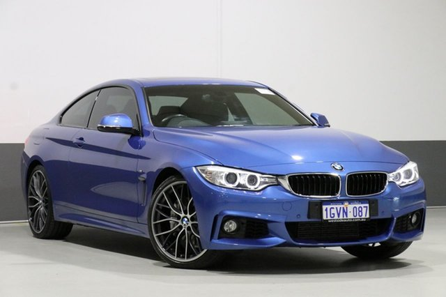 Used BMW 435i F32 , 2013 BMW 435i F32 Estoril Blue 8 Speed Automatic Coupe