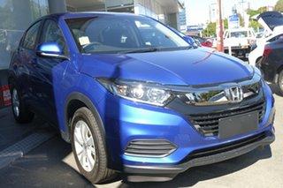 2019 Honda HR-V MY19 VTi Brilliant Sporty Blue 1 Speed Constant Variable Hatchback.