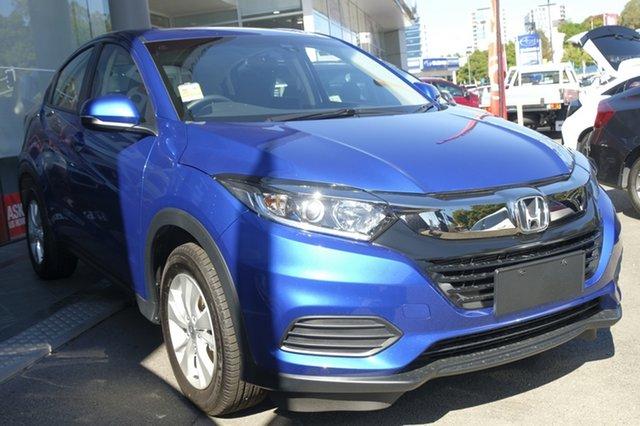Demo Honda HR-V MY19 VTi, 2019 Honda HR-V MY19 VTi Brilliant Sporty Blue 1 Speed Constant Variable Hatchback