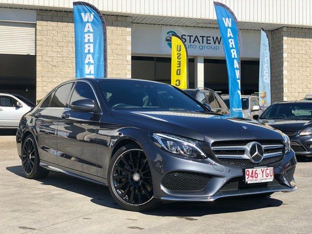 Used Mercedes-Benz C-Class W205 806MY , 2015 Mercedes-Benz C-Class W205 806MY Grey 7 Speed Sports Automatic Sedan