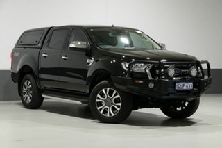 2018 Ford Ranger PX MkII MY18 XLT 3.2 (4x4) Black 6 Speed Automatic Dual Cab Utility.