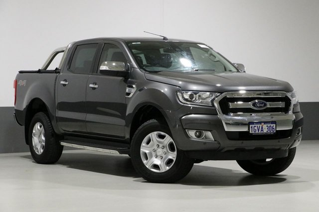 Used Ford Ranger PX MkII MY17 XLT 3.2 (4x4), 2017 Ford Ranger PX MkII MY17 XLT 3.2 (4x4) Grey 6 Speed Automatic Dual Cab Utility