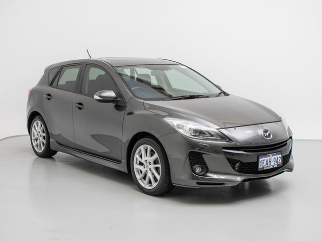 Used Mazda 3 BL Series 2 MY13 SP25, 2012 Mazda 3 BL Series 2 MY13 SP25 Grey 6 Speed Manual Hatchback