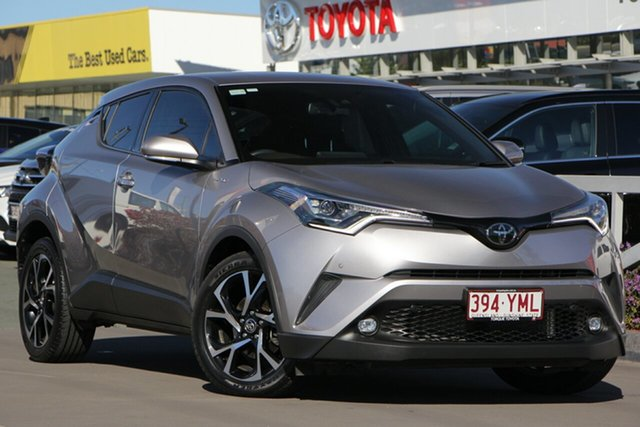 Used Toyota C-HR NGX10R Koba S-CVT 2WD, 2017 Toyota C-HR NGX10R Koba S-CVT 2WD Shadow Platinum 7 Speed Constant Variable Wagon