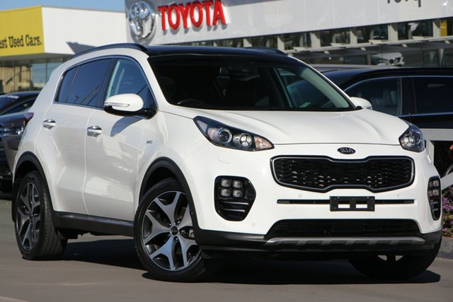 Used Kia Sportage QL MY18 GT-Line AWD, 2017 Kia Sportage QL MY18 GT-Line AWD White 6 Speed Sports Automatic Wagon