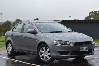 2013 Mitsubishi Lancer CJ MY13 ES Sportback Titanium Grey 6 Speed Constant Variable Hatchback