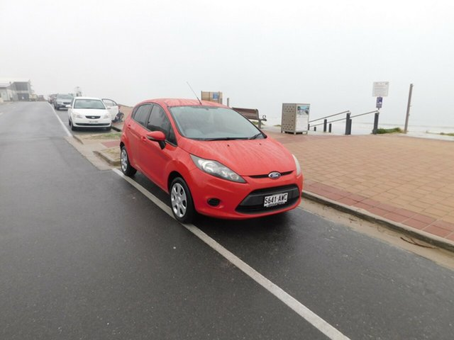 Used Ford Fiesta WT CL PwrShift, 2013 Ford Fiesta WT CL PwrShift Red 6 Speed Sports Automatic Dual Clutch Hatchback