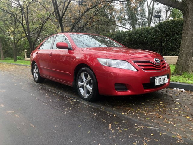 Used Toyota Camry ACV40R Altise, 2011 Toyota Camry ACV40R Altise Red 5 Speed Automatic Sedan