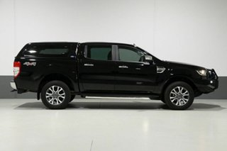 2018 Ford Ranger PX MkII MY18 XLT 3.2 (4x4) Black 6 Speed Automatic Dual Cab Utility